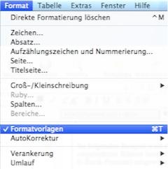 menu_formatvorlagen